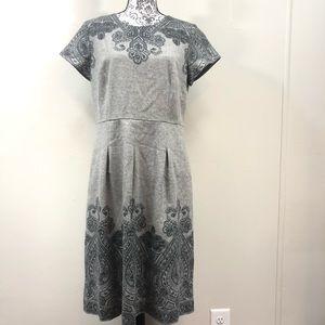 Beautiful Detailed Talbot's Wool Dress size 12